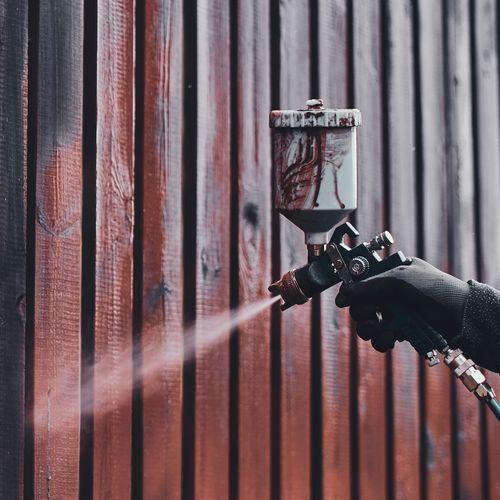 Zaun sanieren